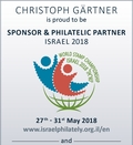 Sponsor and Philatelic Partner ISRAEL 2018